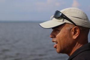 Der Blick auf das Steinhuder Meer.